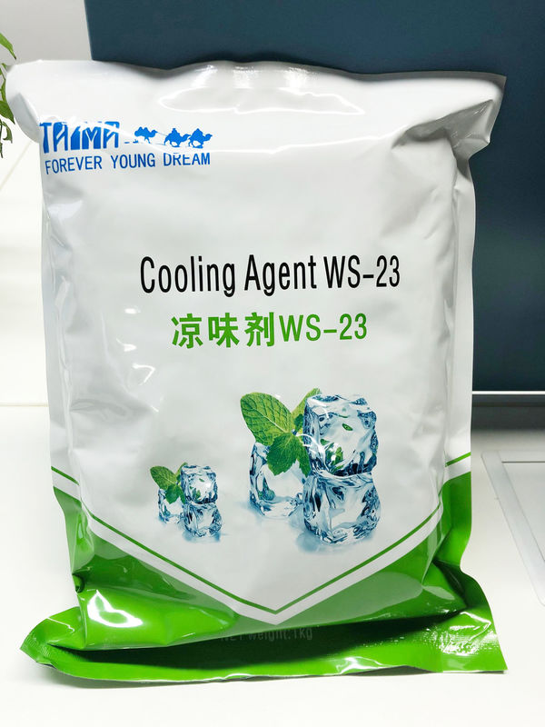 Insoluble Powdered WS23 Coolant Additive For Chewing Gum